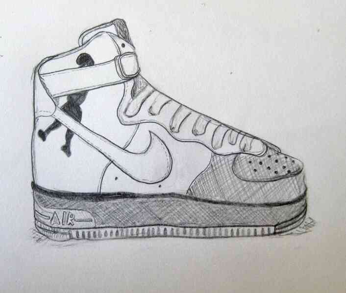 new lifestyle exclusive deals new products Comment Dessiner Nike Air Force Ones