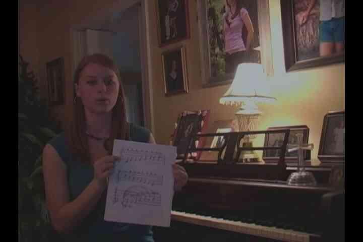 Comment Apprendre les Notes de Vue de Chant