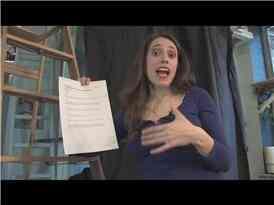 De Broadway Audition Monologue Choix