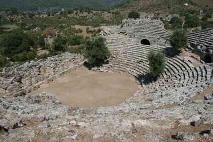 Le But de la Comédie & Tragédie dans le Théâtre grec