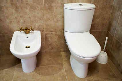 De Style européen, des Toilettes Avec Deux Types de Chasse
