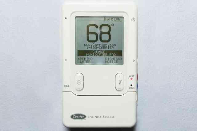 Comment faire pour Réinitialiser un Transporteur Infinity Système de Thermostat