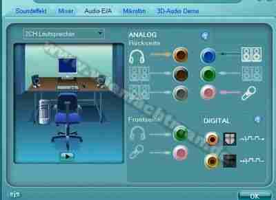 Realtek high definition audio assignation des broches du connecteur changement