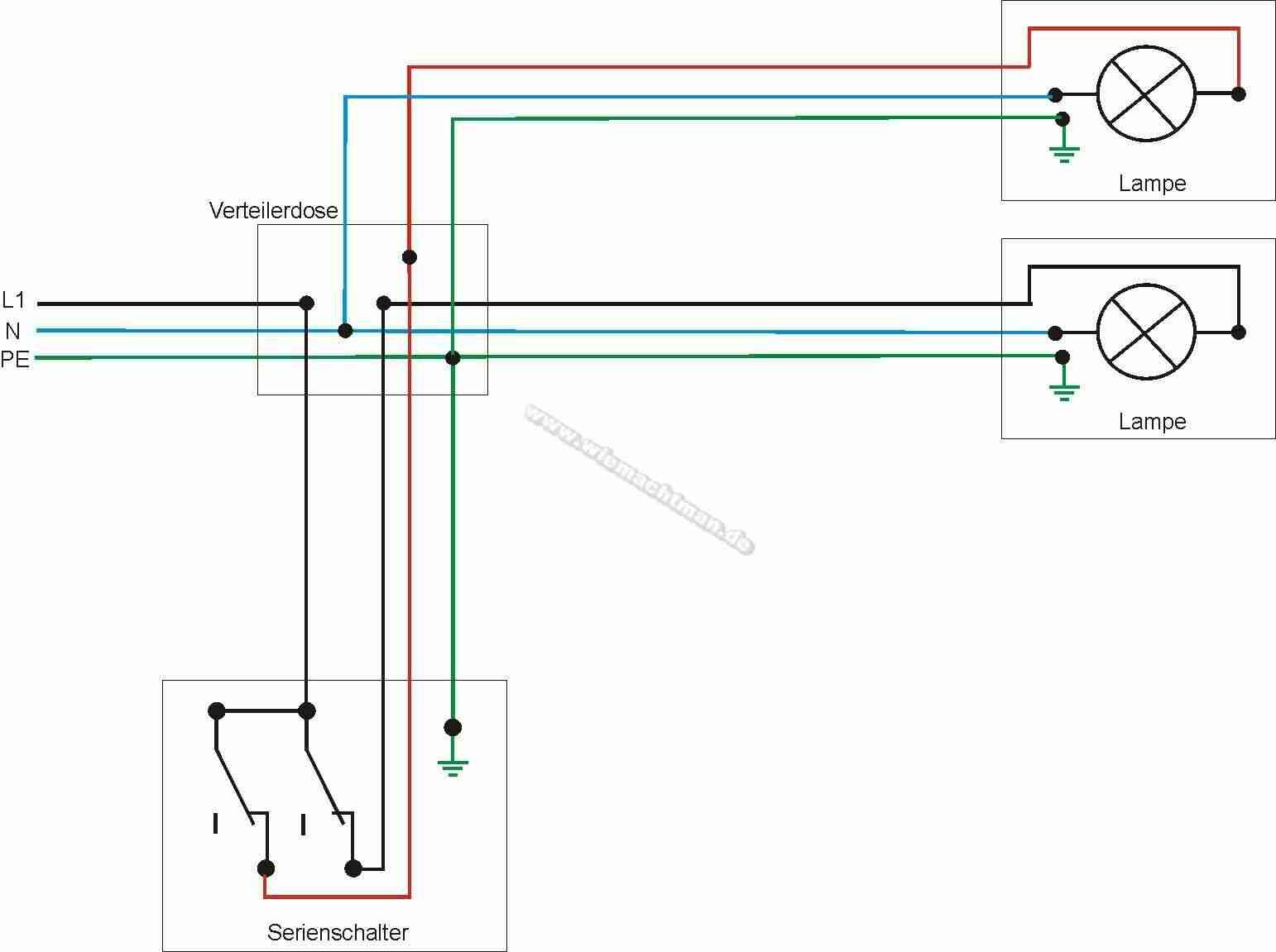 Circuit En Série Diagramme