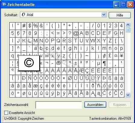 Les caractères spéciaux sur le clavier