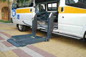 Payer pour un véhicule accessible en fauteuil roulant