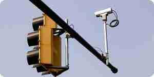 Battre caméra de circulation de la lumière billets