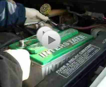 Changer une batterie de voiture: voiture conseils d