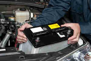 Remplacement de la batterie de voiture