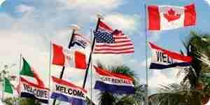 Reconnaître les différents types de drapeaux et de bannières