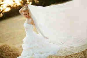 Faire un voile de mariée modèle