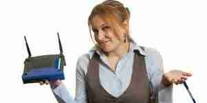 Sécuriser des réseaux sans fil dans les maisons: routeur internet