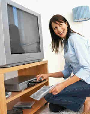 Transfert de données sur un enregistreur vidéo numérique (dvr) de dvd