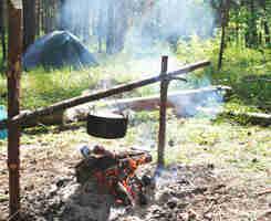 comment faire un feu de camp