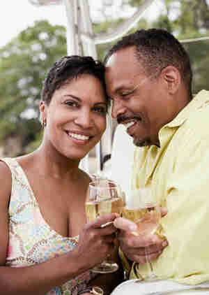 Jetez un 25e anniversaire de mariage de partie