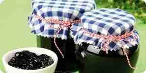Test le point de réglage de la confiture ou de la marmelade: maison conserve
