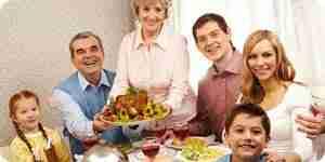 Préparer un dîner de thanksgiving: dîner de l