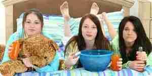 Jeter des soirées pyjamas pour votre adolescent: amusant soirée pyjama idées
