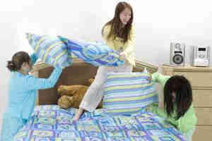 adolescent soirée pyjama