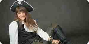 Être un pirate fille: costumes, vêtements et plus encore