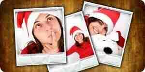 Faire de Noël de photo de cartes: des cartes de Noël personnalisées