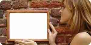 Comment accrocher des photos sur vos murs en briques: des crochets et des ancres