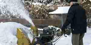 Choisissez une souffleuse à neige électrique souffleuse à neige