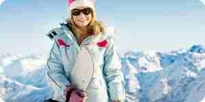 Robe pour le ski
