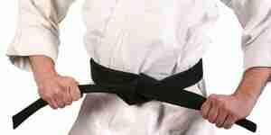 Obtenir une ceinture noire