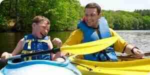 En canoë ou en kayak