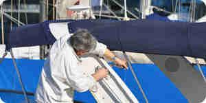 Peinture de bateaux en aluminium