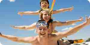 Trouver à bon marché des vacances en famille: planifiez un voyage en famille