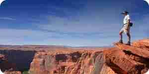 Voir le grand canyon: à l